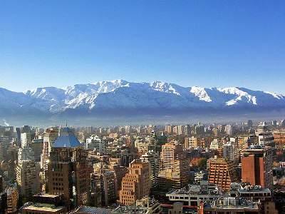 Pacote para Santiago/Chile em agosto
